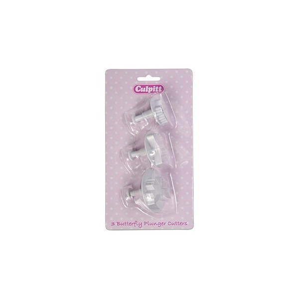Butterfly Plunger Cutter - 3pc