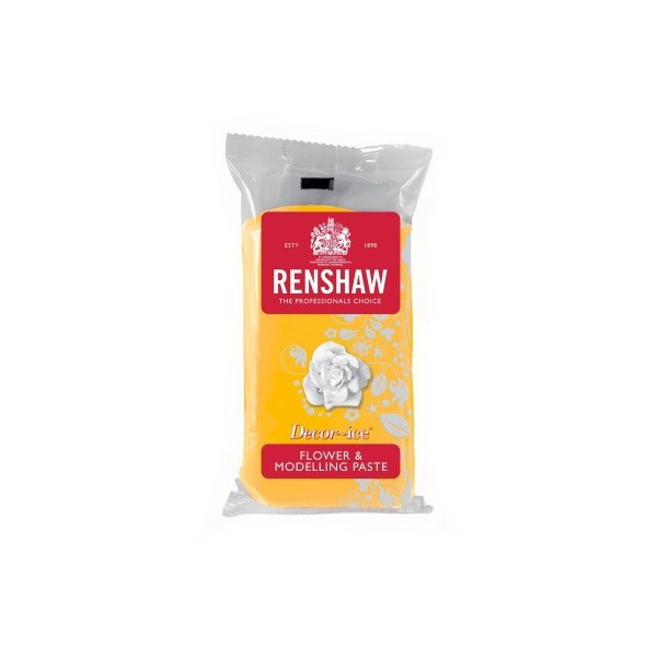 Renshaw Daffodil Yellow Flower & Modelling Paste - 250g