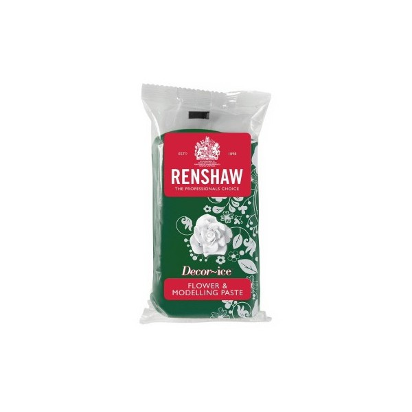 Renshaw Leaf Green Flower & Modelling Paste - 250g