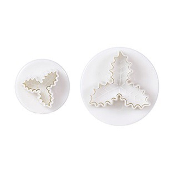 Triple Holly Plunger Cutter - 2pc