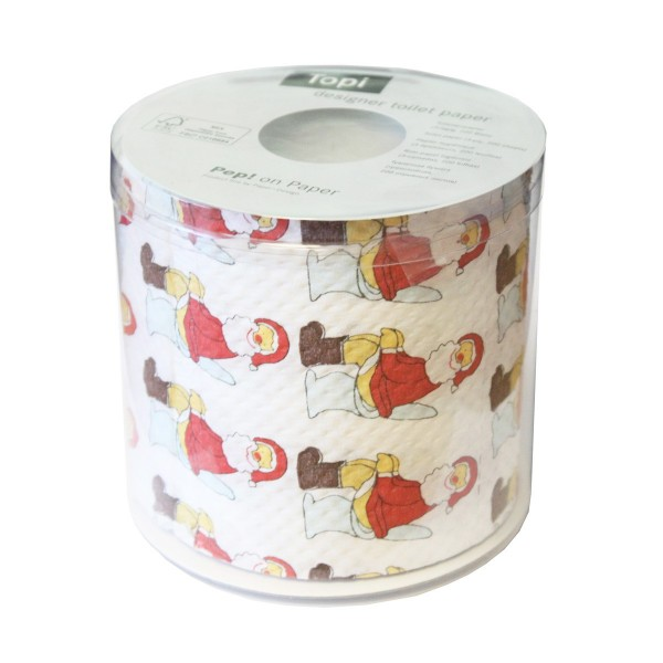 Oh! Father Christmas Novelty Toilet Roll