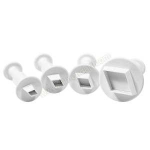 Diamond Plunger Cutters - Set Of 4