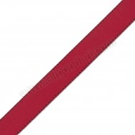 Red & Black Grosgrain Side Stitch 25mm x 1m