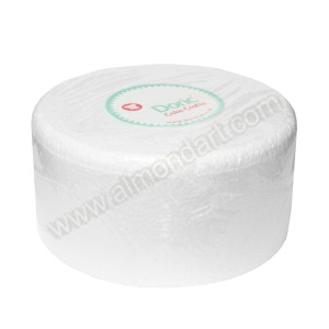 "8"" Round 5"" Deep Chamfered Edge Cake Dummy"