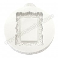 Vintage Rectangle Miniature Frame Mould