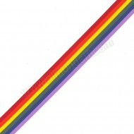 Rainbow Ribbon - 25mm x 1m