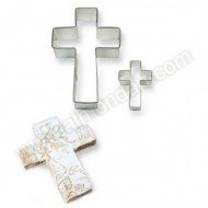 Cookie and Cake Cross Cutter 2 pc