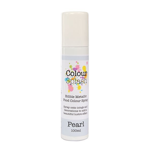 Colour Splash Edible Food Colour Spray - Pearl 100ml