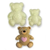 Jem Easy Pops Mould - Teddy Bears - Set of 2