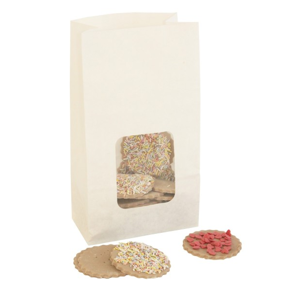 Scotchban Greaseproof White Cookie Bags - 10pk