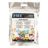 PME Black Gum Paste - 200g