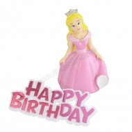 Princess Resin Topper and Motto