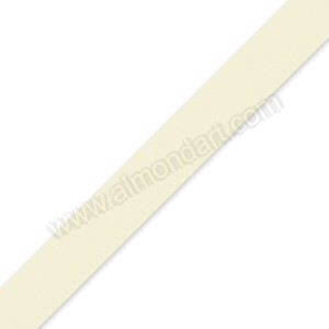 15mm Ivory Double Sided Satin Ribbon - 1m