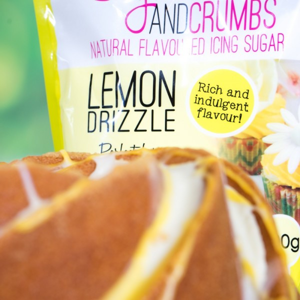 Lemon Drizzle Natural Flavoured Icing Sugar - 500g