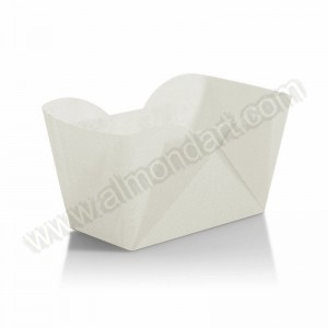White Mini Loaf Cases - 24pk