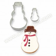 Snowman Cookie & Cake Cutter - 2pc