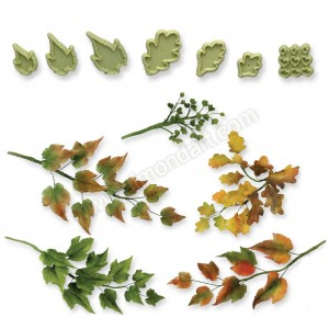 JEM Mixed Leaves No. 3 - Set of 7