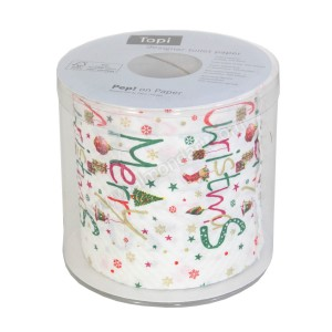 'Merry Christmas' Toilet Roll