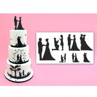 Wedding Silhouette Cutter Set