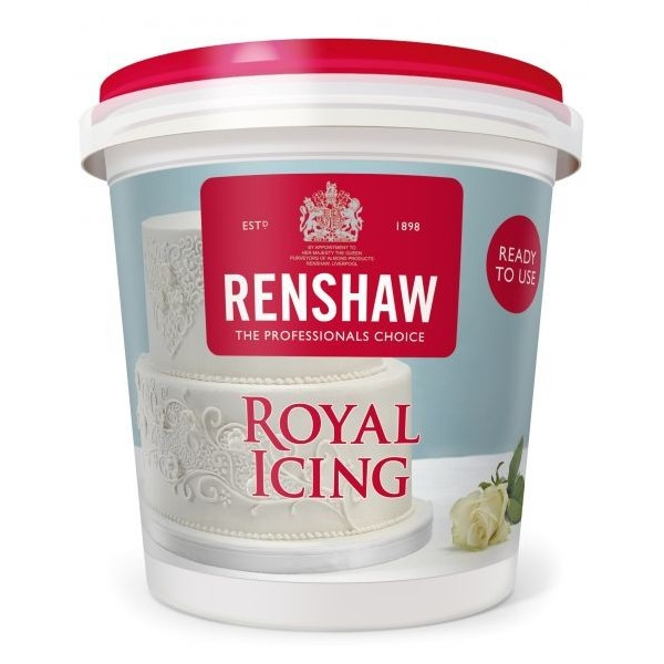 Renshaw White Royal Icing - 400g