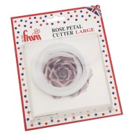 Large Rose Petal Cutters - Set of 3