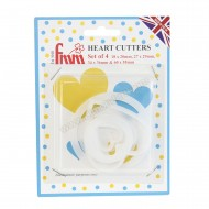 Heart Cutters - Set of 4