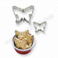 Butterfly Cookie & Cake Cutters - Set of 2