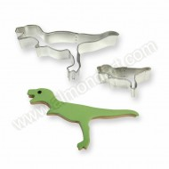 Dinosaur Cookie & Cake Cutters - Set of 2