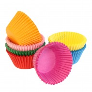 Multi-Coloured Muffin / Cupcake Cases - 140pk