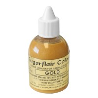 Gold Glitter Edible Air Brush Colour - 60ml