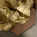 Gold Tissue Paper 50cm x 76cm - Pack of 3