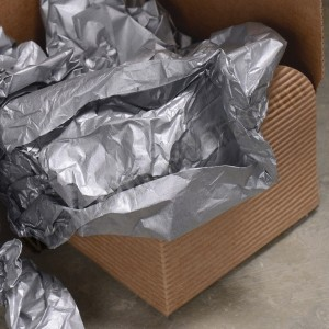 Silver Tissue Paper 50cm x 76cm - Pack of 3