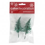 Fir Tree Decoration - Set of 2