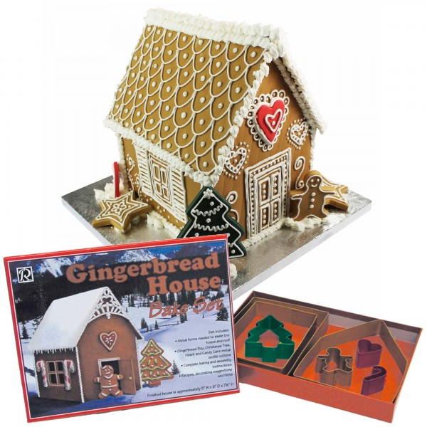 Gingerbread House Bake Set - 7pc