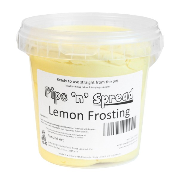 Pipe 'n' Spread - Lemon Frosting - 900g