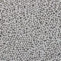 Silver Metallic Sugar Pearls - 4mm - 30g Bag
