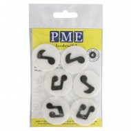 Edible Music Note Decorations - 6pk