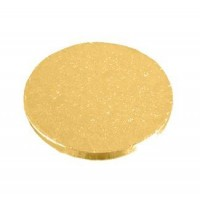 Round Gold Cake Drums