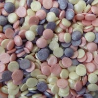 Glimmer Confetti Ice Pink Mix Sprinkles - 70g