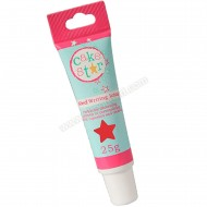 Cake Star Red Writing Icing - 25g Tube