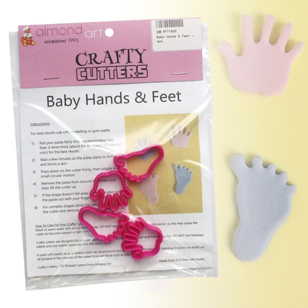 Baby Hands & Feet Cutter Set - 4pc