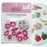 Fruit & Vegetable Cutter Set - 10pc