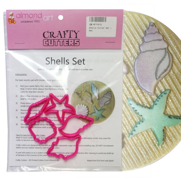 Shells Cutter Set - 5pc