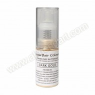 Dark Gold - Sugarflair Powder Puff Pump Spray - 10g