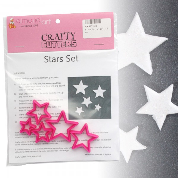 Star Cutter Set - 5pc
