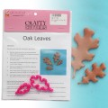 Oak Leaves Cutter Set - 2pc