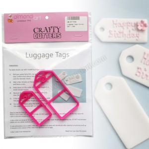Luggage / Gift Tag Cutter Set - 2pc