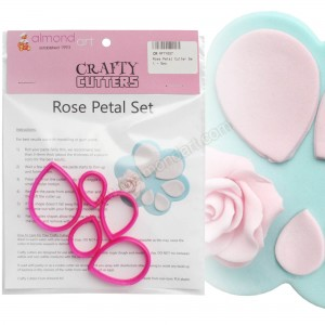 Rose Petal Cutter Set - 5pc