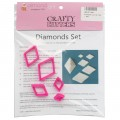 Diamonds Cutter Set - 5pc