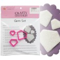 Gems Cutter Set - 3pc